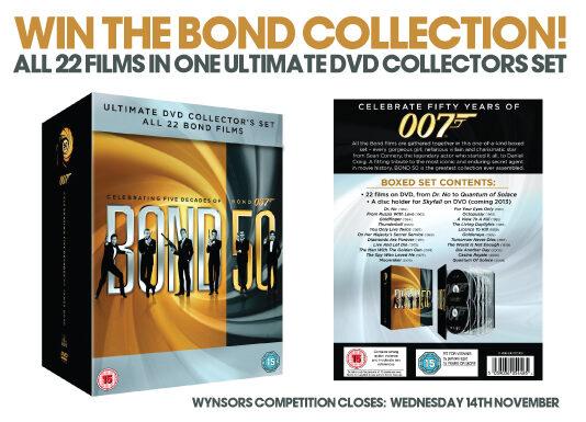 James Bond 22 DVD Set - WIN IT!