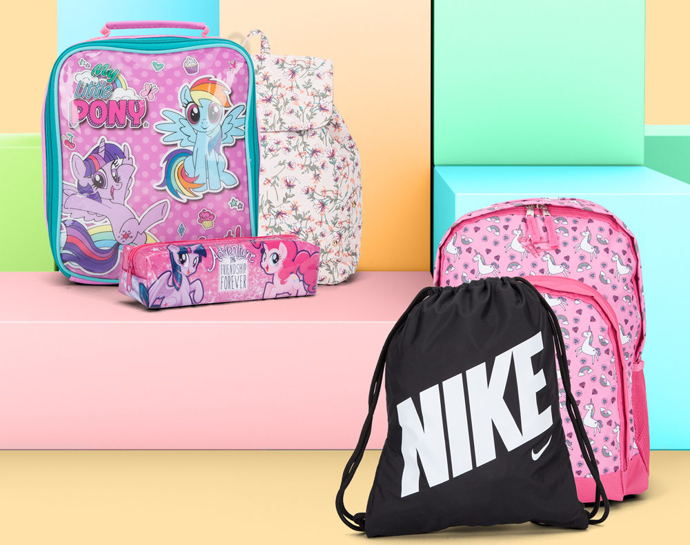 School bags for the new term