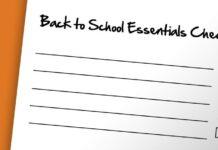 Your Back-to-School Essentials Checklist