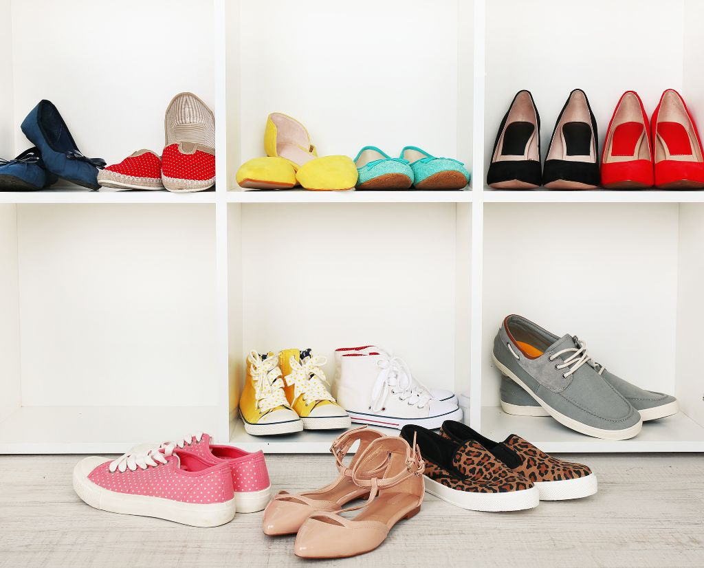Tips on how to store your shoes