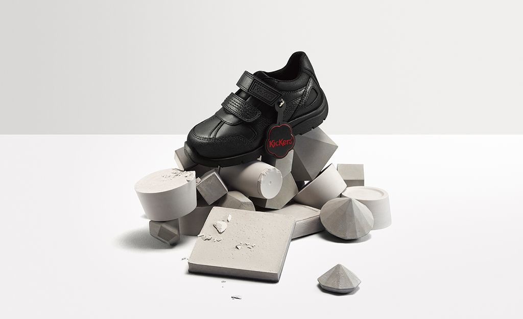 The Kickers Kommitment to making playground-proof school shoes
