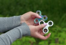A very popular toy, the fidget spinner has been banned in several schools in 2017.