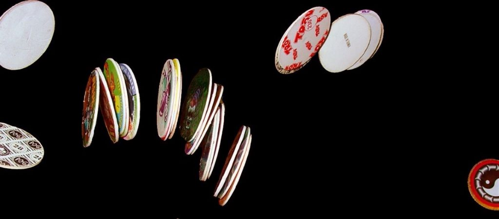 The 90's saw the addictive colourful discs created by the POG brand become extremely popular
