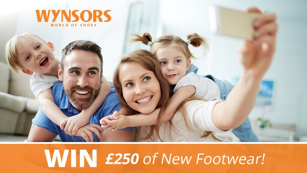 Win £250 of Footwear with our Selfie Competition!