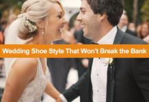 Cheap wedding shoes that won't break the bank.
