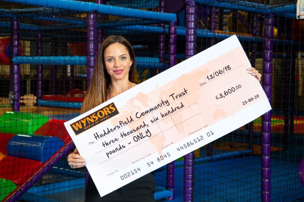 Huddersfield Community Trust lands £3,600 charity donation from Wynsors