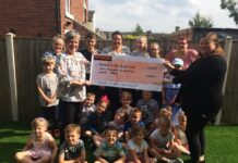 Whittington Hub Youth Club lands £3,600 donation from Wynsors