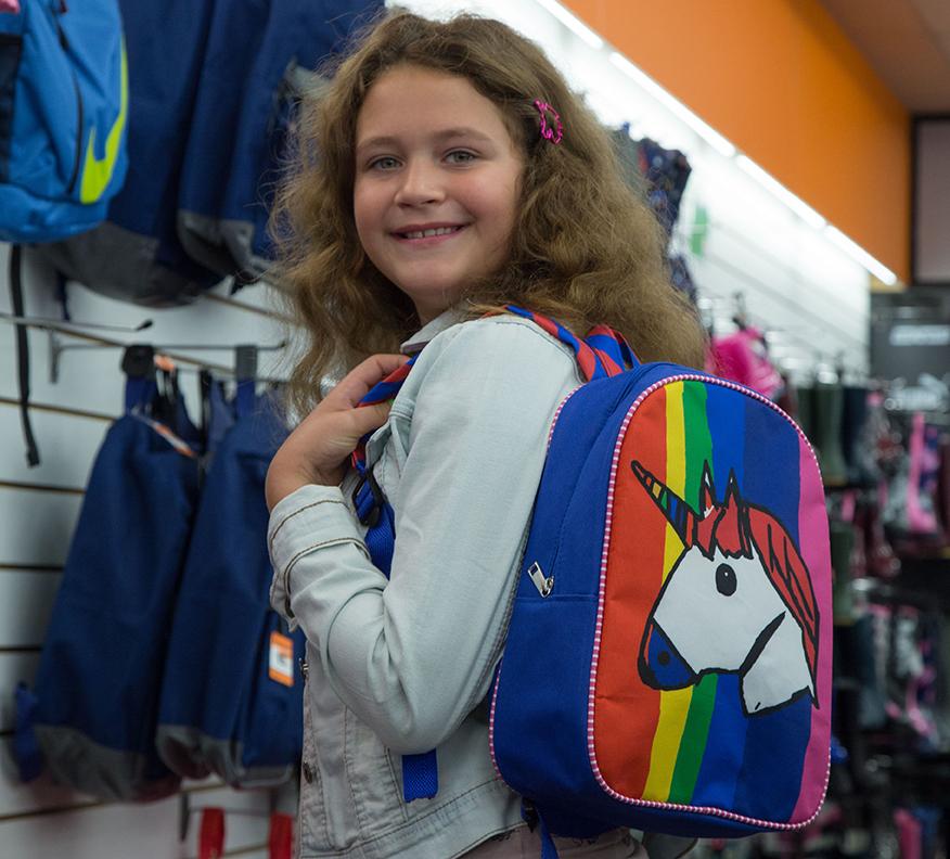 Design a bag winner Mya at Wynsors Hanley