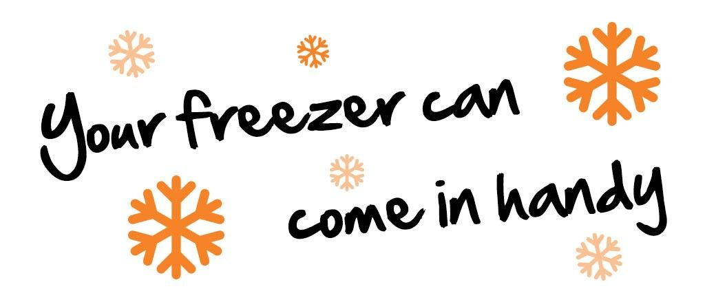 There are plenty of foods that you can freeze for healthy school lunches and make sure nothing goes to waste.