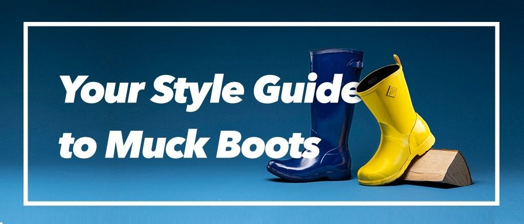 Find out everything you need to know about Muck Boots with a little help from Wynsors.