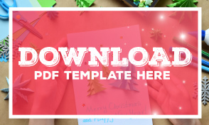 xmas card design template download