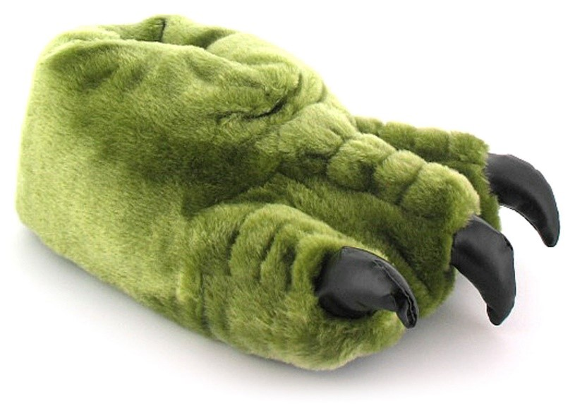 A pair of novelty, monster claw slippers are bound to impress the ogre in your life!