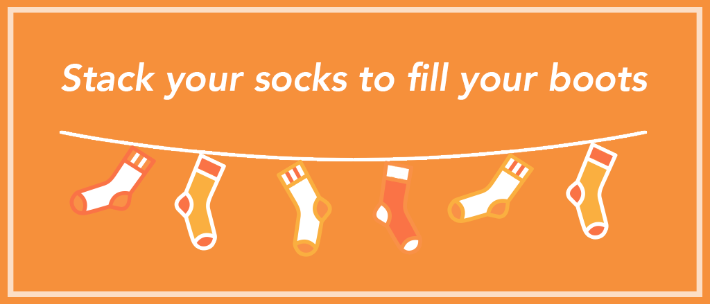 Try layering up your socks to give you a tighter footwear fit.