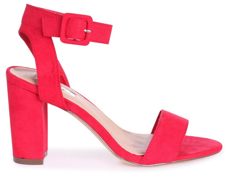 Coral is the colour of 2019; embody this bright hue and add a splash of colour to any outfit with a classy block-heel silhouette.