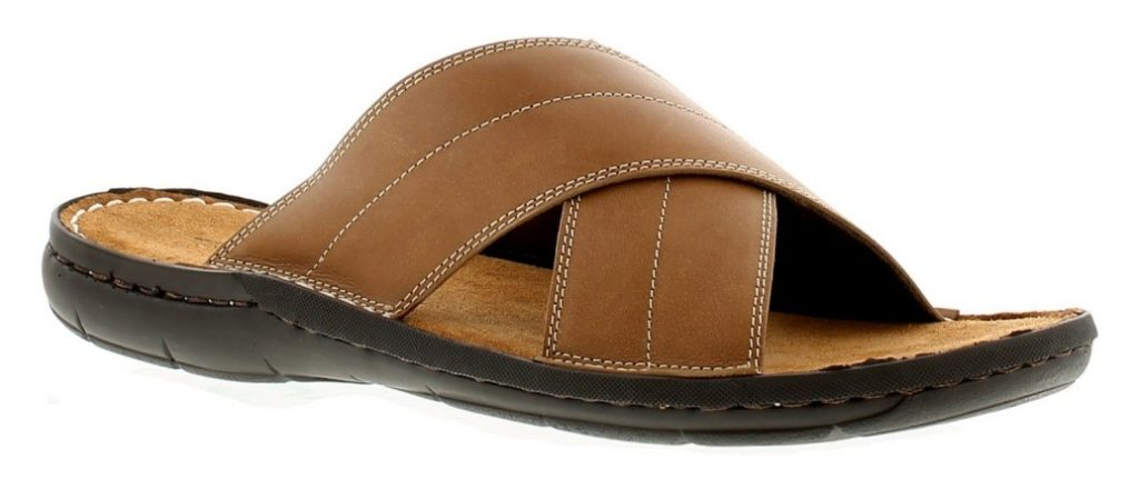 A pair of leather sandals make the perfect gift for a holiday-ready dad this summer