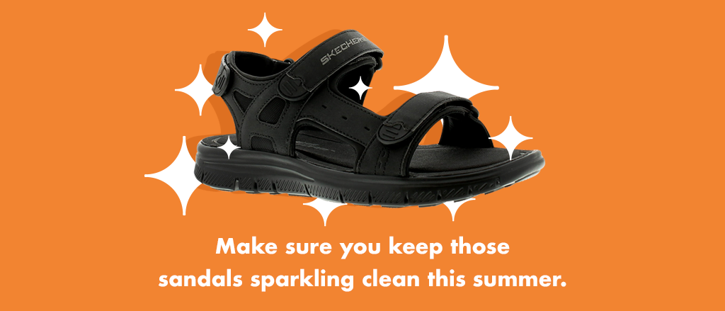 This trending shoe isn't showing signs of going anywhere - keep them clean with a simple brush and water combination.