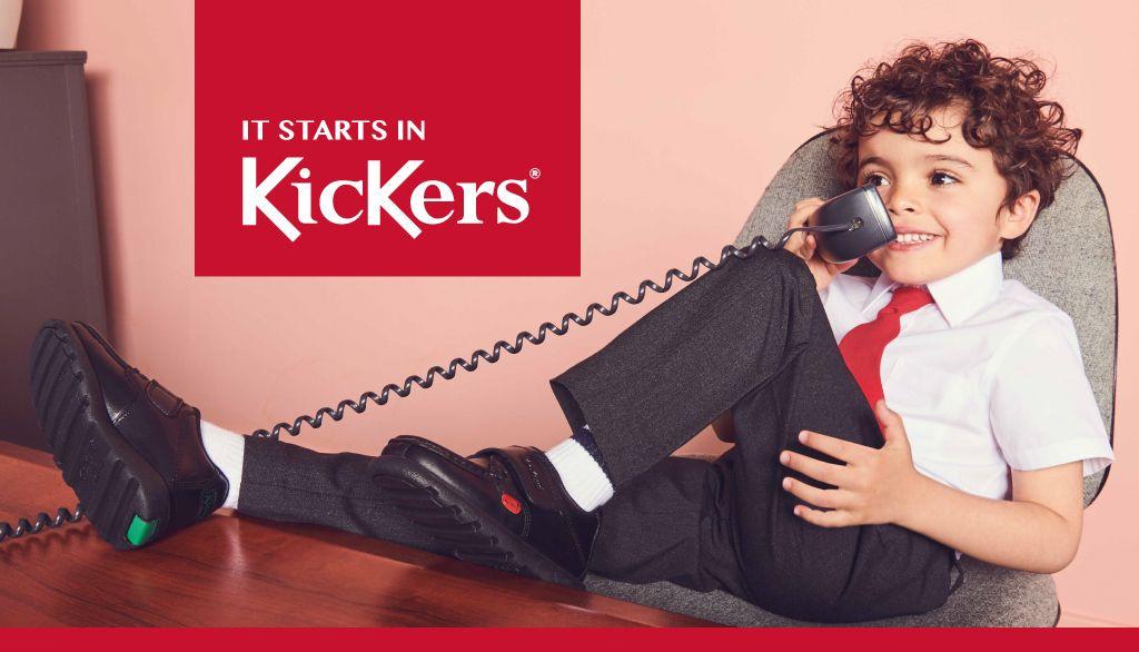 Kickers School Shoes