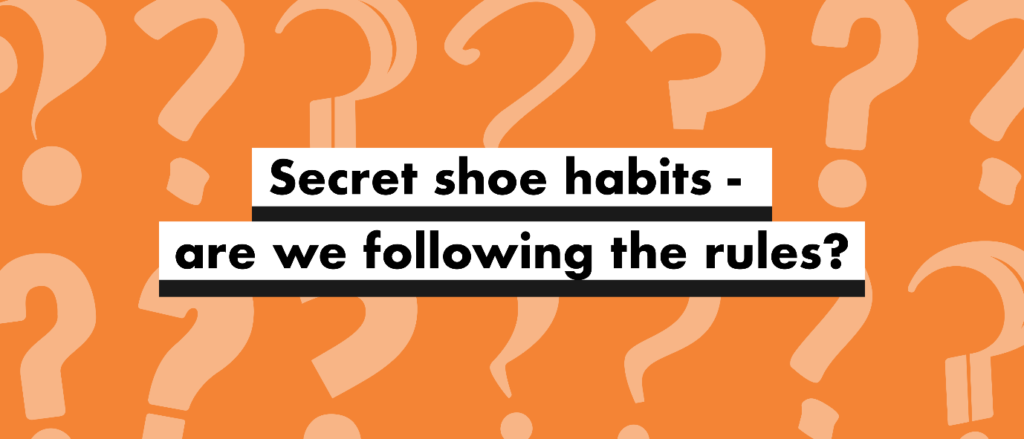Keep reading to find out the untold shoe-habit secrets of our social-poll respondents.