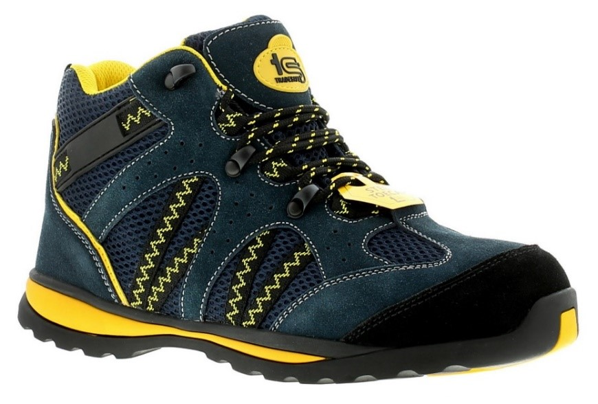 These colourful Tradesafe Scaffold safety boots are great for added visibility.