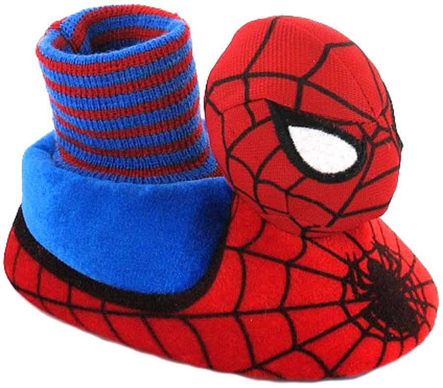 Adult spiderman slippers