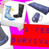Festival Survival Pack Competition