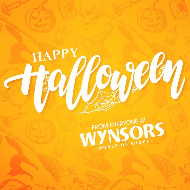 Happy Halloween from everyone at wynsors! halloween wynsors