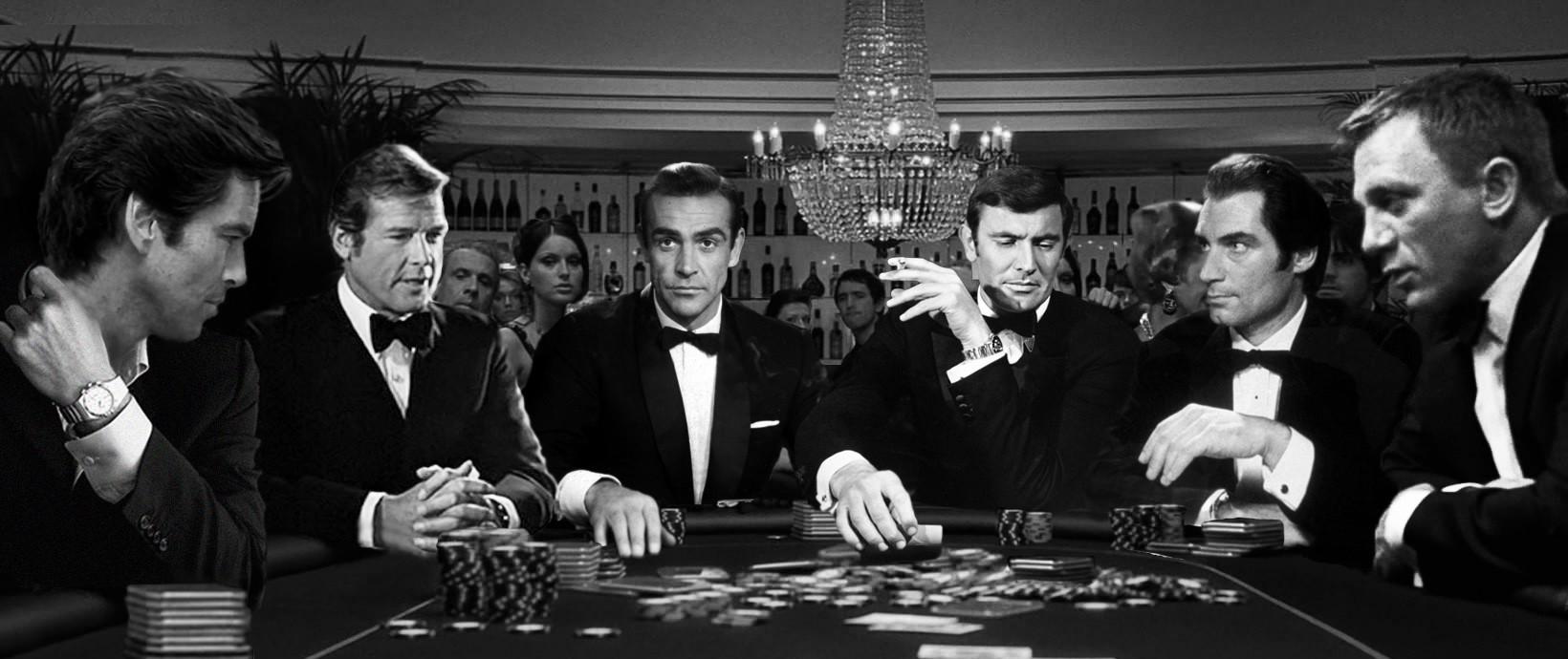 James Bond Poker Scene