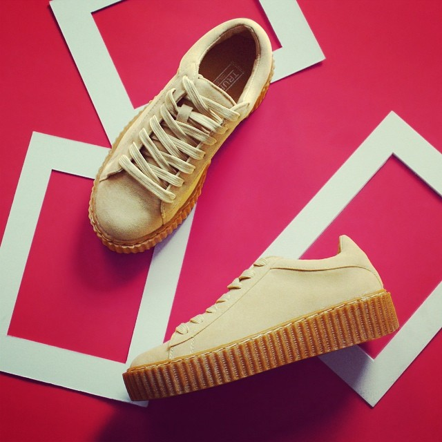 Fashion essentials! trainers beige sneekers creepers shoeaddict suede cute wynsors