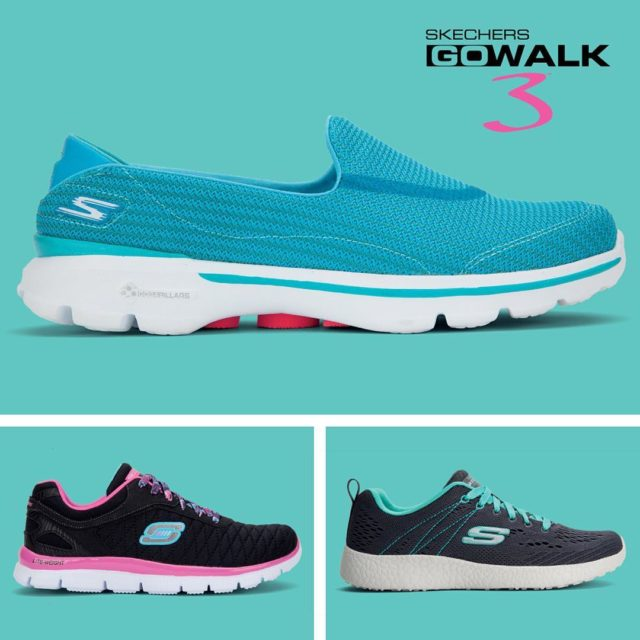 Skechers for the whole family! Including Skechers GoWalk 3 Comforthellip