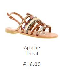 Apache Tribal Sandal