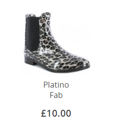 Platino Fab Ankle Wellie
