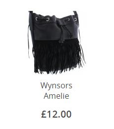 Wynsors Amelie Tassle Bag