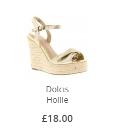 Dolcis Hollie Gold