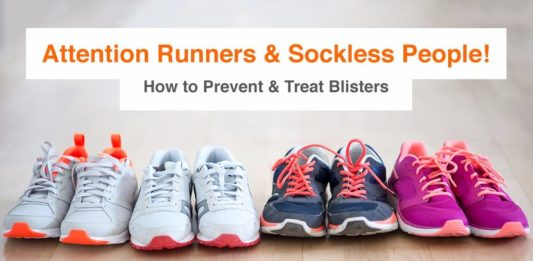 How to prevent and treat blisters on your feet